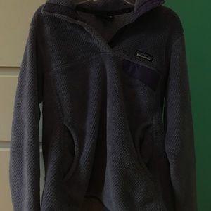 purple quarter zip